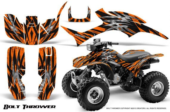 Honda TRX300 1993 2006 CreatorX Graphics Kit Bolt Thrower Orange 570x376 - Honda TRX 300EX 1993-2006 Graphics