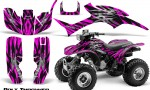 Honda TRX300 1993 2006 CreatorX Graphics Kit Bolt Thrower Pink BB 150x90 - Honda TRX 300EX 1993-2006 Graphics