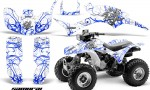 Honda TRX300 1993 2006 CreatorX Graphics Kit Samurai Blue White 150x90 - Honda TRX 300EX 1993-2006 Graphics