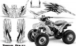 Honda TRX300 1993 2006 CreatorX Graphics Kit Tribal Bolts Black White 150x90 - Honda TRX 300EX 1993-2006 Graphics