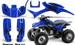 Honda TRX300 1993 2006 CreatorX Graphics Kit Tribal Bolts Blue 150x90 - Honda TRX 300EX 1993-2006 Graphics