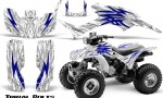 Honda TRX300 1993 2006 CreatorX Graphics Kit Tribal Bolts Blue White 150x90 - Honda TRX 300EX 1993-2006 Graphics