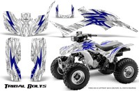 Honda-TRX300-1993-2006-CreatorX-Graphics-Kit-Tribal-Bolts-Blue-White