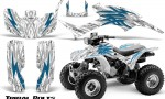 Honda TRX300 1993 2006 CreatorX Graphics Kit Tribal Bolts BlueIce White 150x90 - Honda TRX 300EX 1993-2006 Graphics