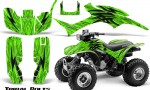 Honda TRX300 1993 2006 CreatorX Graphics Kit Tribal Bolts Green 150x90 - Honda TRX 300EX 1993-2006 Graphics