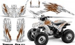 Honda TRX300 1993 2006 CreatorX Graphics Kit Tribal Bolts Orange White 150x90 - Honda TRX 300EX 1993-2006 Graphics