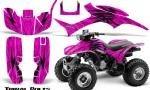 Honda TRX300 1993 2006 CreatorX Graphics Kit Tribal Bolts Pink BB 150x90 - Honda TRX 300EX 1993-2006 Graphics