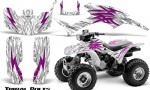 Honda TRX300 1993 2006 CreatorX Graphics Kit Tribal Bolts Pink White 150x90 - Honda TRX 300EX 1993-2006 Graphics