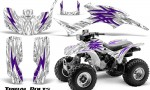 Honda TRX300 1993 2006 CreatorX Graphics Kit Tribal Bolts Purple White 150x90 - Honda TRX 300EX 1993-2006 Graphics