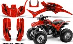 Honda TRX300 1993 2006 CreatorX Graphics Kit Tribal Bolts Red BB 150x90 - Honda TRX 300EX 1993-2006 Graphics