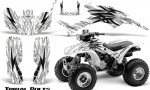 Honda TRX300 1993 2006 CreatorX Graphics Kit Tribal Bolts White 150x90 - Honda TRX 300EX 1993-2006 Graphics