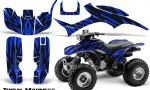 Honda TRX300 1993 2006 CreatorX Graphics Kit Tribal Madness Blue 150x90 - Honda TRX 300EX 1993-2006 Graphics