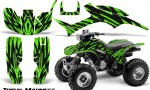 Honda TRX300 1993 2006 CreatorX Graphics Kit Tribal Madness Green 150x90 - Honda TRX 300EX 1993-2006 Graphics