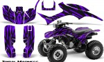 Honda TRX300 1993 2006 CreatorX Graphics Kit Tribal Madness Purple 150x90 - Honda TRX 300EX 1993-2006 Graphics