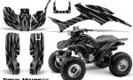 Honda TRX300 1993 2006 CreatorX Graphics Kit Tribal Madness Silver 150x90 - Honda TRX 300EX 1993-2006 Graphics