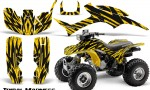 Honda TRX300 1993 2006 CreatorX Graphics Kit Tribal Madness Yellow 150x90 - Honda TRX 300EX 1993-2006 Graphics