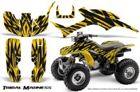 Honda-TRX300-1993-2006-CreatorX-Graphics-Kit-Tribal-Madness-Yellow