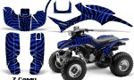 Honda TRX300 1993 2006 CreatorX Graphics Kit ZCamo Black Blue 150x90 - Honda TRX 300EX 1993-2006 Graphics