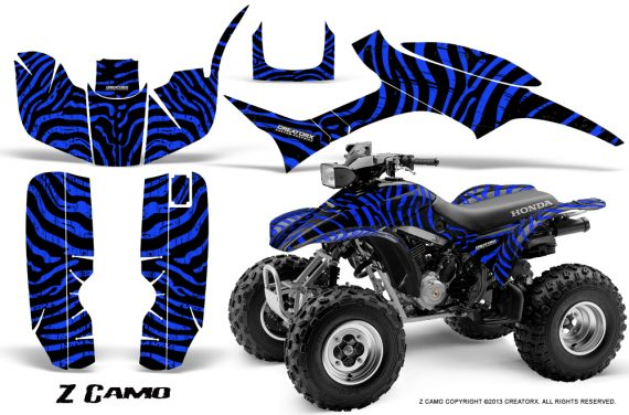 Honda TRX300 1993 2006 CreatorX Graphics Kit ZCamo Black Blue 570x376 - Honda TRX 300EX 1993-2006 Graphics