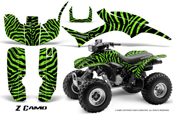 Honda TRX300 1993 2006 CreatorX Graphics Kit ZCamo Black Green 570x376 - Honda TRX 300EX 1993-2006 Graphics