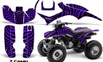 Honda TRX300 1993 2006 CreatorX Graphics Kit ZCamo Black Purple 150x90 - Honda TRX 300EX 1993-2006 Graphics