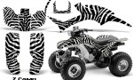 Honda TRX300 1993 2006 CreatorX Graphics Kit ZCamo Black White 150x90 - Honda TRX 300EX 1993-2006 Graphics
