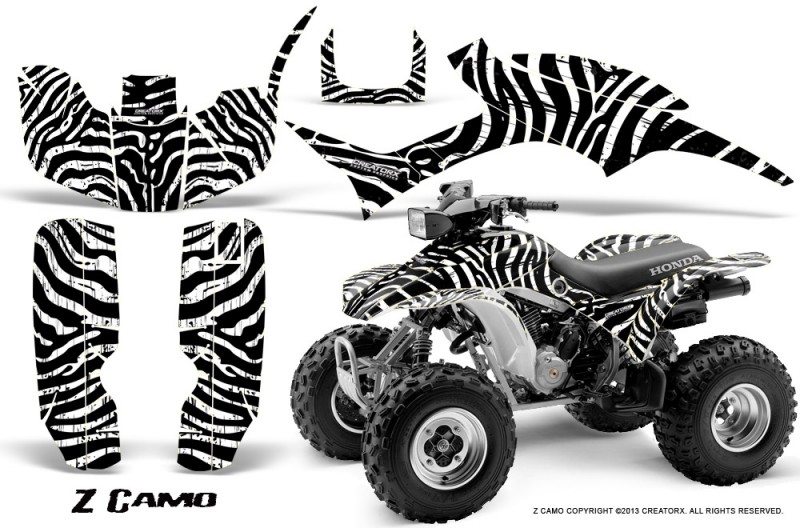 Honda-TRX300-1993-2006-CreatorX-Graphics-Kit-ZCamo-Black-White