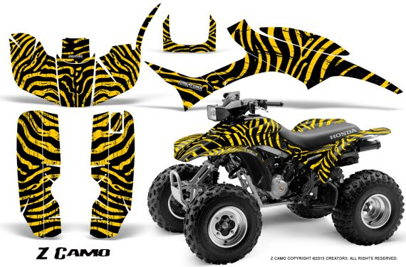 Honda TRX300 1993 2006 CreatorX Graphics Kit ZCamo Black Yellow BB 570x376 - Honda TRX 300EX 1993-2006 Graphics