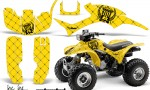 Honda TRX300 AMR Graphics Kit SSR BY 150x90 - Honda TRX 300EX 1993-2006 Graphics