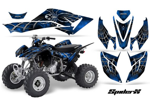 Honda TRX400EX 08 14 CreatorX Graphics Kit SpiderX Blue 570x376 - Honda TRX 400EX 2008-2016 Graphics