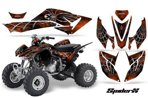Honda TRX400EX 08 14 CreatorX Graphics Kit SpiderX OrangeDark 570x376 - Honda TRX 400EX 2008-2016 Graphics