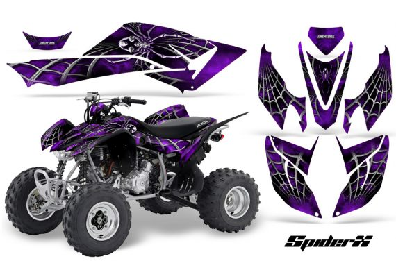 Honda TRX400EX 08 14 CreatorX Graphics Kit SpiderX Purple 570x376 - Honda TRX 400EX 2008-2016 Graphics