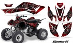 Honda TRX400EX 08 14 CreatorX Graphics Kit SpiderX Red BB 150x90 - Honda TRX 400EX 2008-2016 Graphics