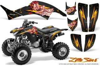 Honda-TRX400EX-99-07-CreatorX-Graphics-Kit-Little-Sins-Black