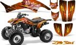 Honda TRX400EX 99 07 CreatorX Graphics Kit Little Sins Orange 150x90 - Honda TRX 400EX 1999-2007 Graphics
