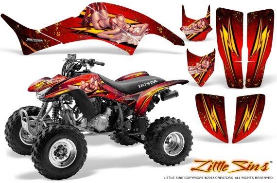 Honda TRX400EX 99 07 CreatorX Graphics Kit Little Sins Red BB 570x376 - Honda TRX 400EX 1999-2007 Graphics