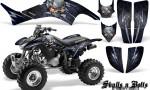 Honda TRX400EX 99 07 CreatorX Graphics Kit Skulls n Bolts Metal Blue 150x90 - Honda TRX 400EX 1999-2007 Graphics