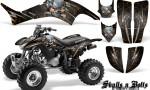 Honda TRX400EX 99 07 CreatorX Graphics Kit Skulls n Bolts Metal Orange 150x90 - Honda TRX 400EX 1999-2007 Graphics