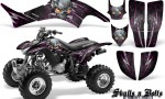 Honda TRX400EX 99 07 CreatorX Graphics Kit Skulls n Bolts Metal Pink 150x90 - Honda TRX 400EX 1999-2007 Graphics