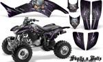 Honda TRX400EX 99 07 CreatorX Graphics Kit Skulls n Bolts Metal Purple 150x90 - Honda TRX 400EX 1999-2007 Graphics