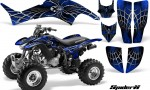 Honda TRX400EX 99 07 CreatorX Graphics Kit SpiderX Blue 150x90 - Honda TRX 400EX 1999-2007 Graphics