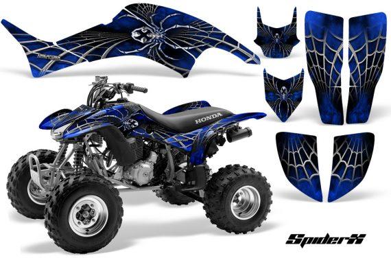 Honda TRX400EX 99 07 CreatorX Graphics Kit SpiderX Blue 570x376 - Honda TRX 400EX 1999-2007 Graphics