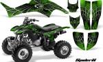 Honda TRX400EX 99 07 CreatorX Graphics Kit SpiderX Green 150x90 - Honda TRX 400EX 1999-2007 Graphics