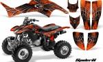 Honda TRX400EX 99 07 CreatorX Graphics Kit SpiderX Orange 150x90 - Honda TRX 400EX 1999-2007 Graphics