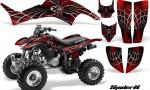 Honda TRX400EX 99 07 CreatorX Graphics Kit SpiderX Red BB 150x90 - Honda TRX 400EX 1999-2007 Graphics