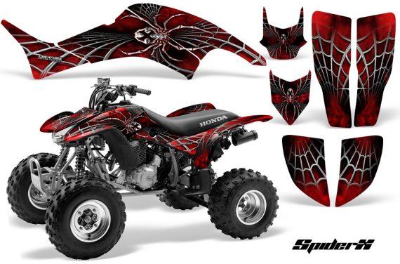 Honda TRX400EX 99 07 CreatorX Graphics Kit SpiderX Red BB 570x376 - Honda TRX 400EX 1999-2007 Graphics