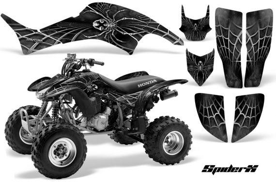 Honda TRX400EX 99 07 CreatorX Graphics Kit SpiderX Silver 570x376 - Honda TRX 400EX 1999-2007 Graphics