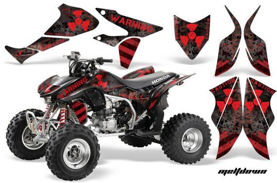 Honda TRX450 ER 09 AMR Graphic Kit MELTDOWN RED BLKBG 1000 570x376 - Honda TRX 450R 2004-2016 Graphics
