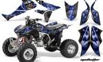 Honda TRX450 ER 09 AMR Graphic Kit MadHatter BLACK BLUESTRIPE WEB 150x90 - Honda TRX 450R 2004-2016 Graphics