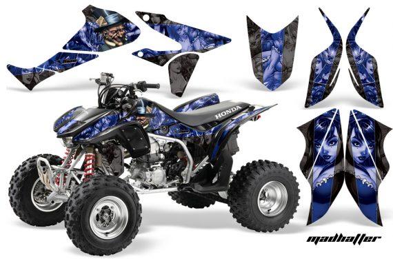 Honda TRX450 ER 09 AMR Graphic Kit MadHatter BLACK BLUESTRIPE WEB 570x376 - Honda TRX 450R 2004-2016 Graphics